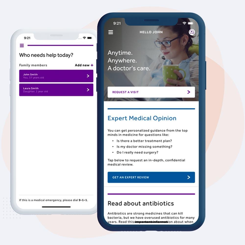 telemedicine app preview