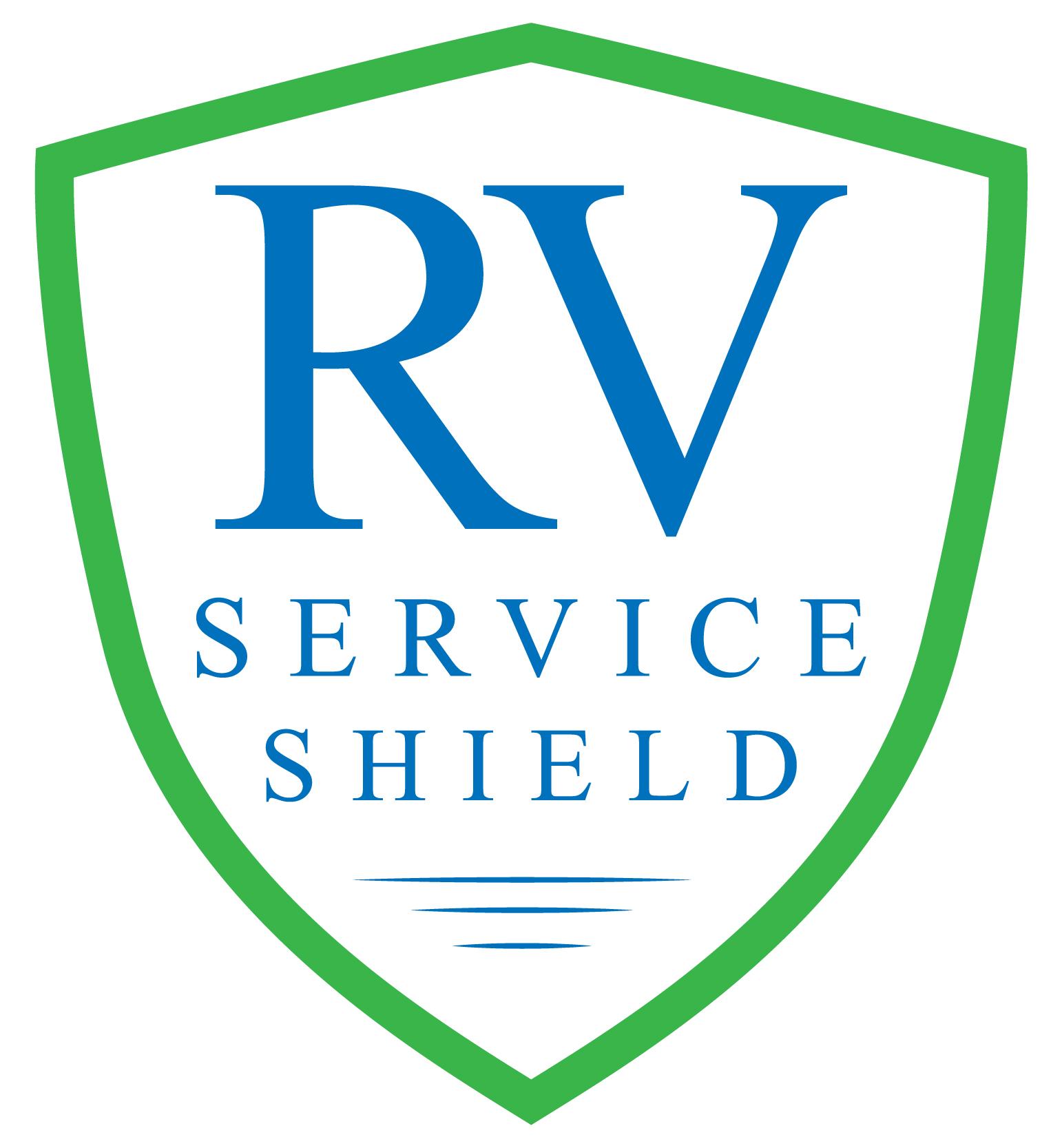 RV Service Shield Logo