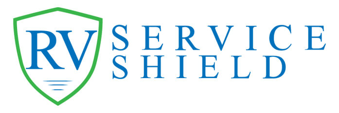 RV Service Shield banner logo